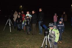 Hvězdářský večer - prosinec 2009