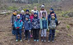 Výprava les, Kunžak 2019