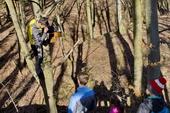 Výprava do lesa, březen 2020